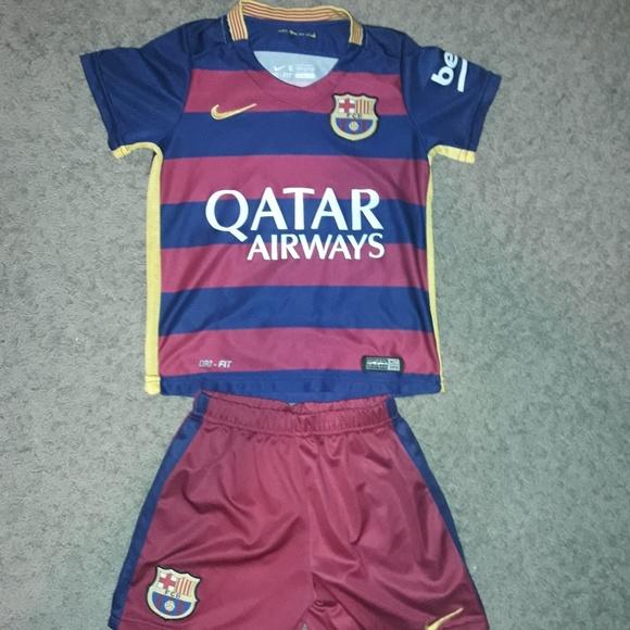 on sale 79686 8a373 FCB Neymar Jr. Soccer Jersey And Shorts Size 6